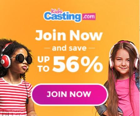 KidsCasting Discount Promo Code