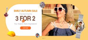Soufeel Autmn Sale US Themed Charms