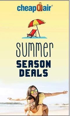 Cheap Flights in the Summer